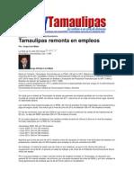LERA2. Tamaulipas Remonta en Empleos. 7 y 8 de Julio de 2012.