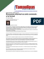 LERA 2. Economía informal se esta comiendo la formal. 9 julio 2012