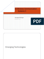 Cellular and WirelessII [Compatibility Mode]