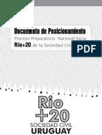 Texto Posicionamiento Sociedad Civil Uruguay Rio+20 Junio2012