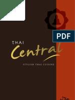 Thai Central Menu