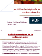Analisis Cadena Valor