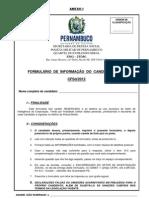 ANEXO l - FORMULÁRIO DE INFORMAÇÃO DO CANDIDATO AO CFSD