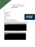 இப்பொது நீங்கள் உங்கள் நண்பர்களுடன் MS DOS மூலம்