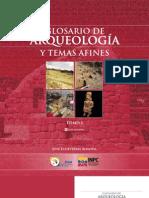 Glosario de Arqueologia Tomo 1