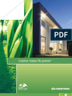 Crestron Makes Life Greener Port