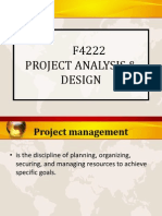 Project Analysis Design 1