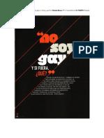Revista Bocas - No soy gay y si fuera, ¿qué?