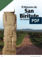 El Retorno de San Biritute a la Comuna de Sacachún