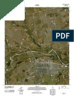 Topographic Map of Vernon
