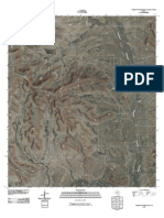 Topographic Map of Table Top Mountain