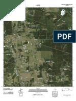 Topographic Map of Tarkington Prairie