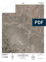 Topographic Map of Taylor Canyon