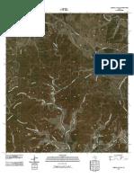 Topographic Map of Sabinal Canyon