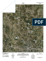 Topographic Map of Weatherford North