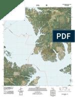 Topographic Map of Salter Creek