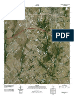 Topographic Map of Terrell South