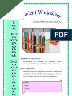 Worksheet DI