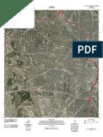 Topographic Map of San Antonio West