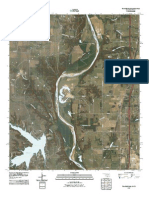 Topographic Map of Thackerville