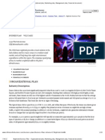 Nightclub Business Plan - Organizational Plan, Marketing Plan, Management Plan, Financial Documents
