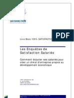 FICHE TECHNIQUE Les Enquetes Satisfaction Salaries