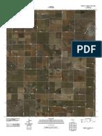 Topographic Map of Three Way School