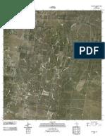 Topographic Map of Randado