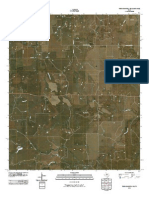 Topographic Map of Throckmorton NE