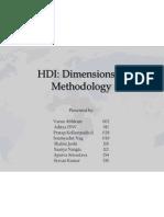 HDI - Methodology & Dimensions.pptx