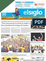 Edicion La Victoria Lunes 30072012