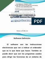 Elementos Del Software Administrativo