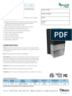 MaxLite LED Security Light DataSheet MLSEC14LED50