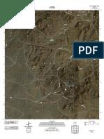 Topographic Map of Paisano