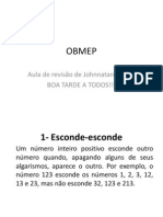 Aula Para OBMEP 2012
