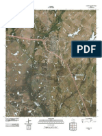 Topographic Map of Kaufman