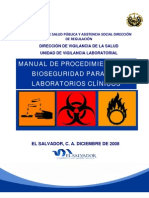 SV Manual de Bioseguridad en Laboratorios Clinicos