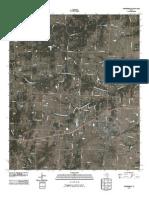 Topographic Map of Whitesboro