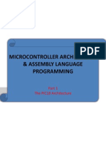 Microcontroller Architecture & Assembly Language Pt1