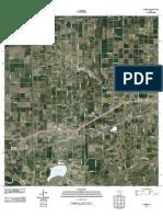 Topographic Map of La Feria