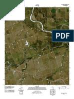 Topographic Map of Oklaunion