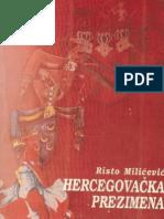 Hercegovacka Prezimena - Risto Milicevic