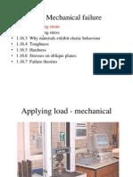 1.16 Mechanical Failure