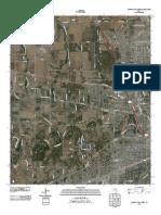 Topographic Map of Wichita Falls West