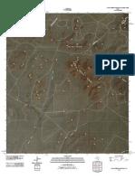 Topographic Map of Mano Prieto Mountain