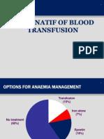 Alternate of Blood Transfusion