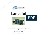 Lancelot User Manual