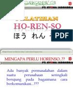 Belajar Horenso