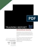 Training Report (Yarn Dyeing)