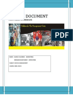 Srvice Document on Dabbawalas